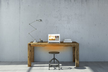 Bureauverwarming 120W Lava Desk