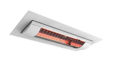 Solamagic plafondinbouw plaatst u badkamer verwarming in het plafond.